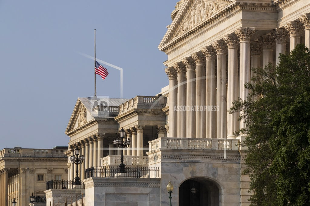 WASHINGTON| The Latest: American Legion demands flags lowered for McCain