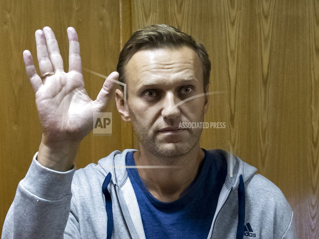 MOSCOW | Russian opposition leader Alexei Navalny gets month in jail