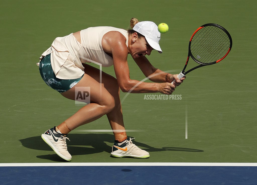NEW YORK | 1 and done: Halep 1st No. 1 seed to lose 1st US Open match