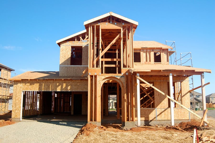 US housing starts rose a slight 0.9 percent in July