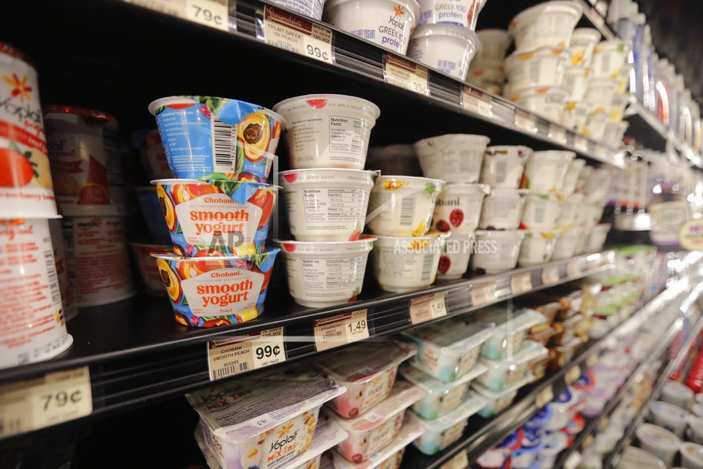 NEW YORK   What's yogurt? Industry wants greater liberty to use term