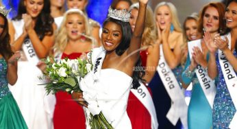 NEW YORK | Miss America ratings fall amid drop of swimsuit competition.