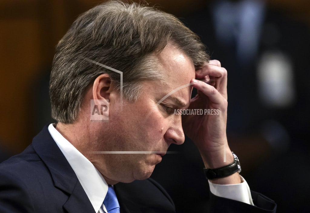 NEW YORK   How 65 women came to Kavanaugh's defense in matter of hours
