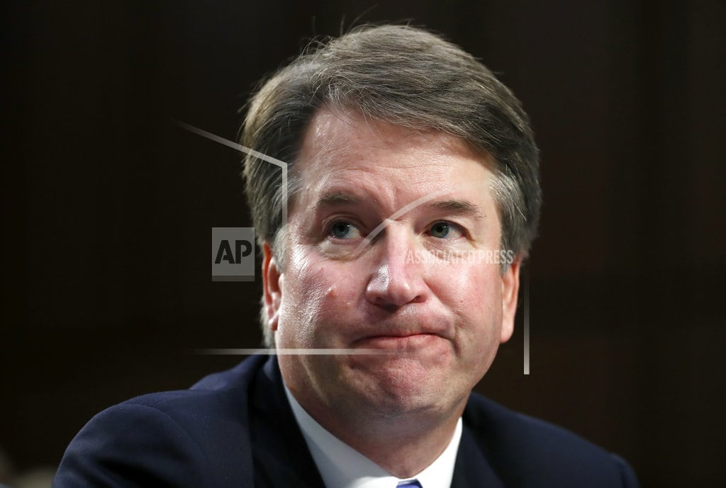 WASHINGTON | The Latest: Marshals investigating threats against Kavanaugh