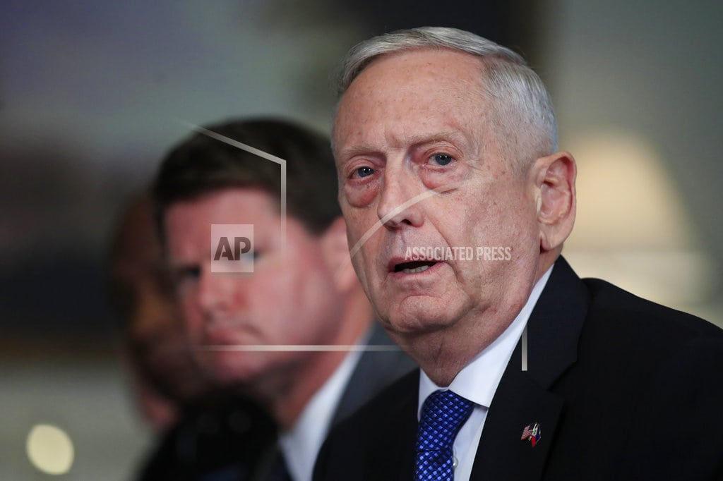 WASHINGTON | Mattis dismissive of news reports of tension with Trump