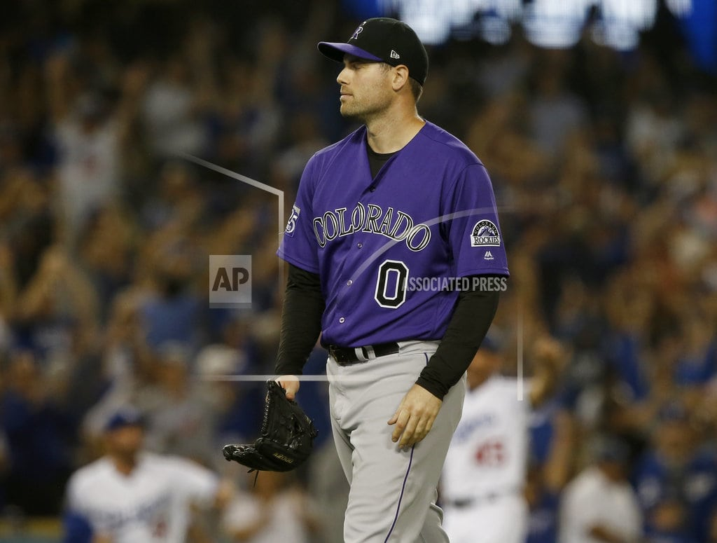 LOS ANGELES  | Taylor HR in 10th, Dodgers top Rockies 3-2, pad NL West lead