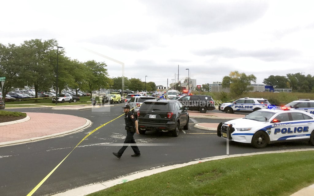 MIDDLETON, Wis.   Man opens fire at his Wisconsin office, 3 seriously hurt