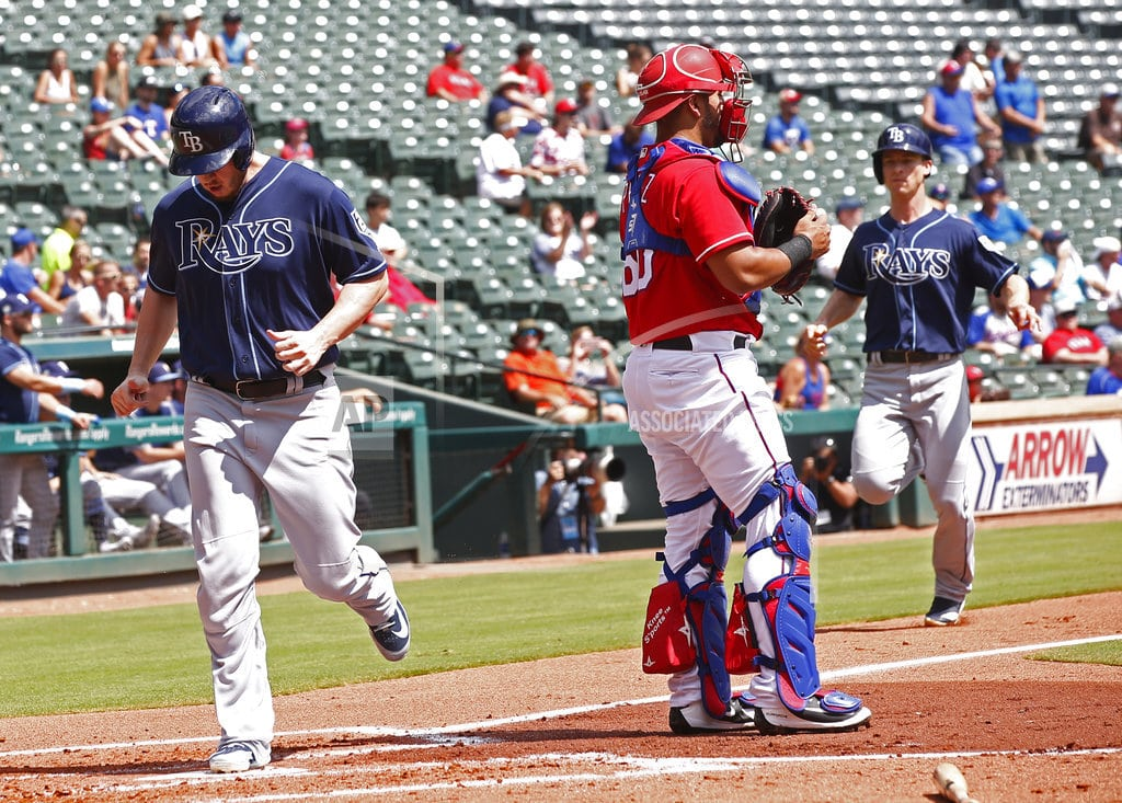 ARLINGTON, Texas   Pham homers twice for late-surging Rays in 9-3 win at Texas