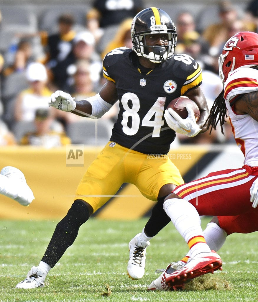 PITTSBURGH   As AB Turns; Brown says he's upset Steelers are losing