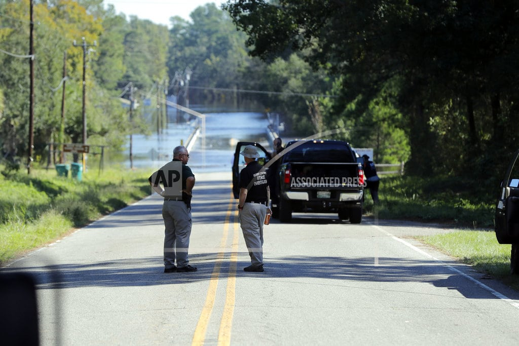 COLUMBIA, S.C.   2 patients drown as van swept into floodwaters