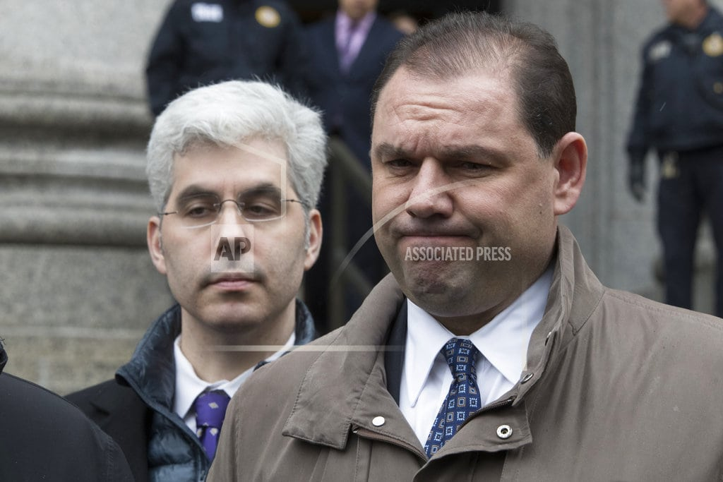 NEW YORK   Ex-aide to Gov. Andrew Cuomo faces sentencing for corruption