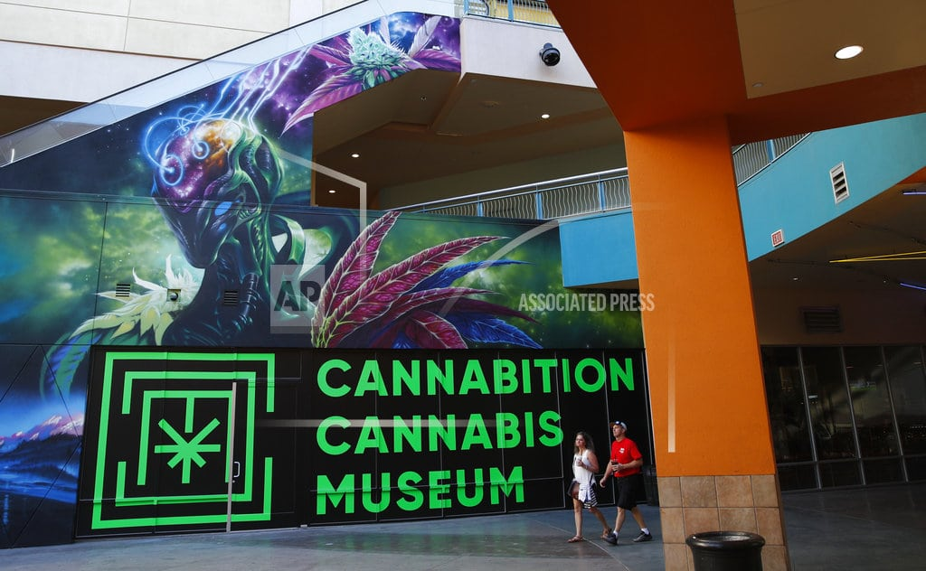 LAS VEGAS | Get ready for 'Bongzilla,' selfie frenzy at Vegas pot museum