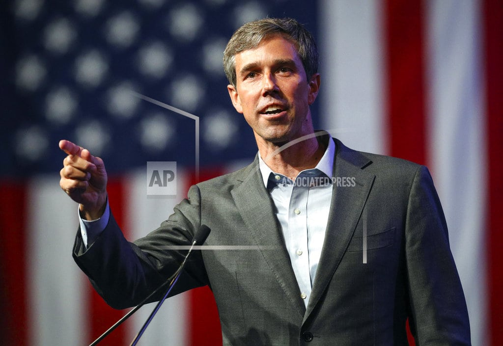ATHENS, Texas | O'Rourke ignores attacks ahead of Texas Senate race debate
