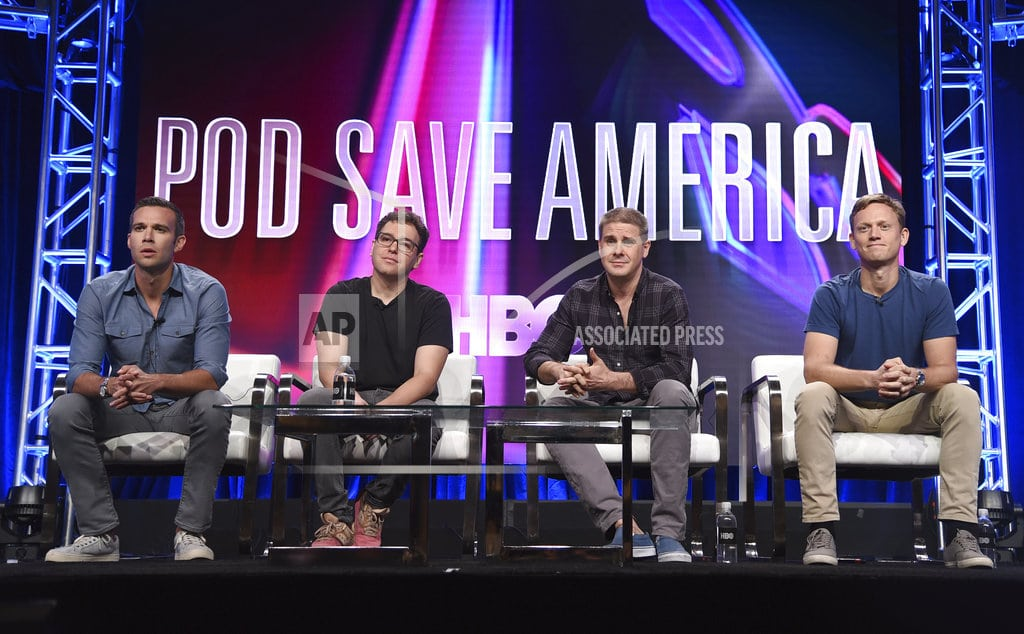NEW YORK   'Pod Save America' political podcast is coming to HBO