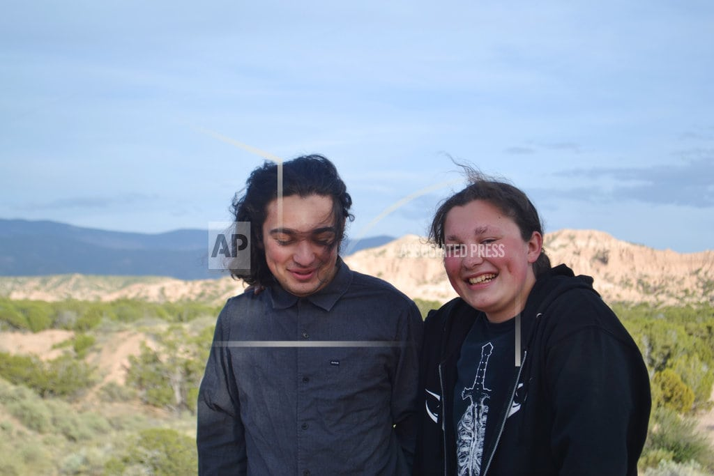 ALBUQUERQUE, N.M | Native American teens stopped on college tour urge changes