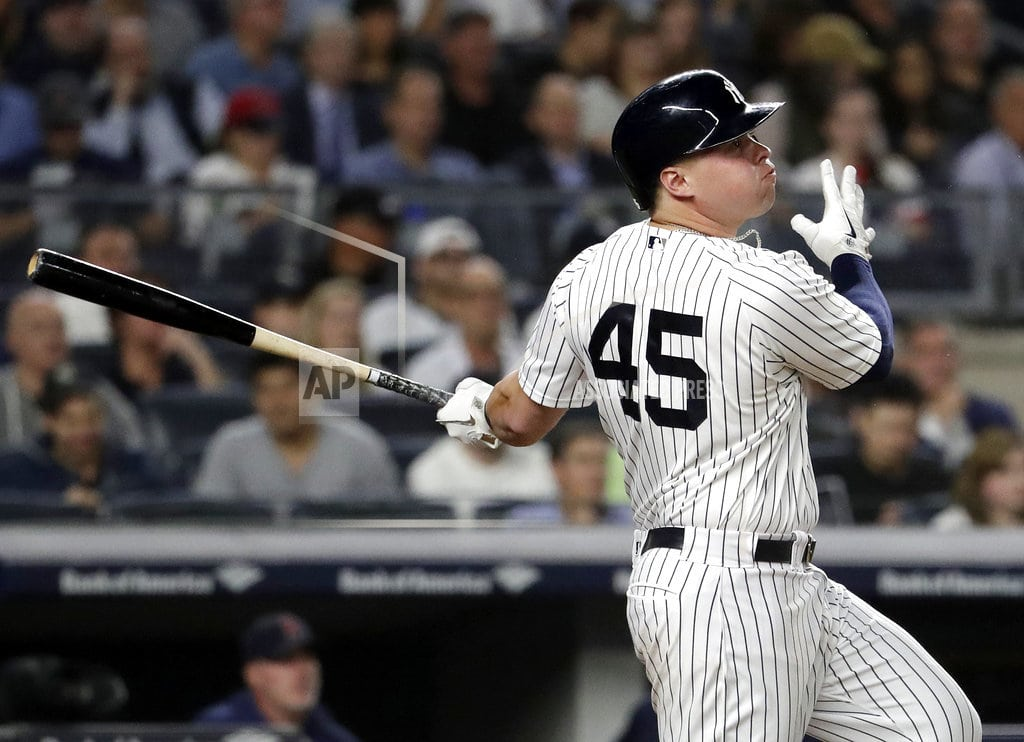NEW YORK | Voit gives Yankees pair of home run records on 1 swing
