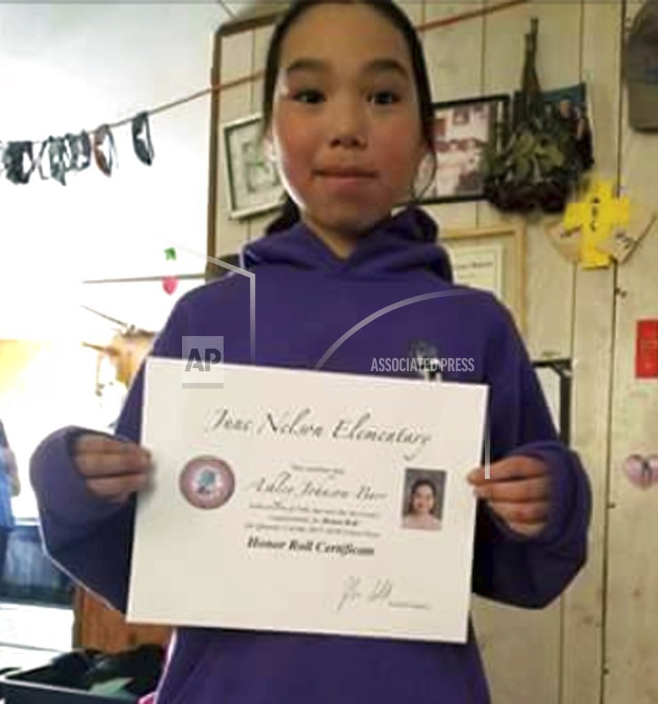 ANCHORAGE, Alaska| Alaska man charged with murder in 10-year-old girl's slaying