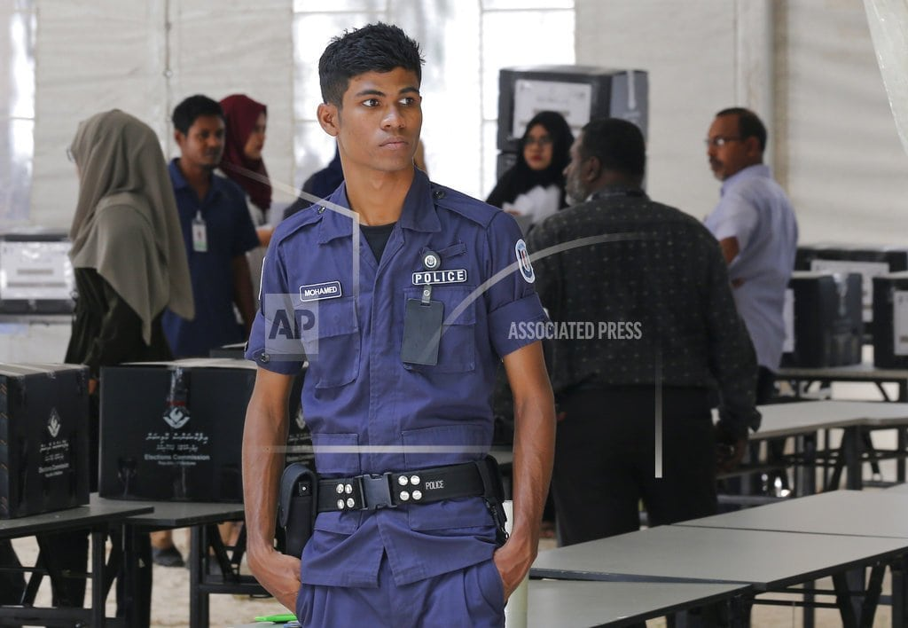 MALE, Maldives | Maldivian authorities assure free vote amid fears of rigging