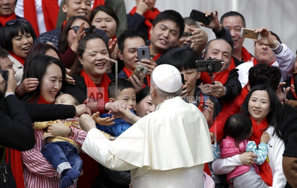 VATICAN CITY | Pope urges Chinese Catholics to trust, reconcile after deal