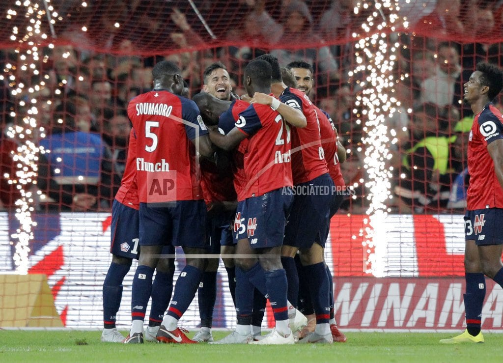 PARIS | Lille off to best French league start in more than 60 years