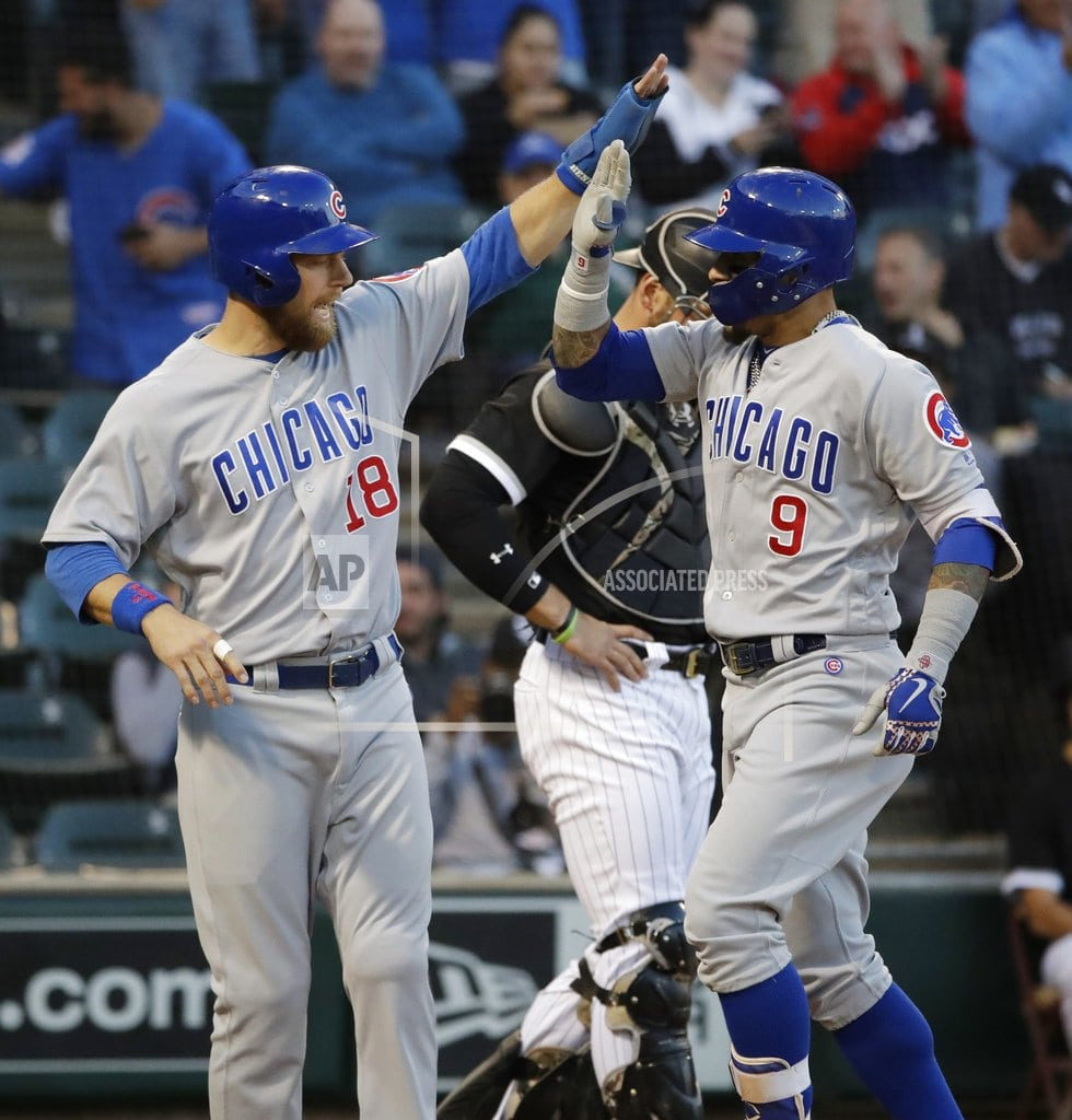 CHICAGO | Cubs beat White Sox 8-3, inch closer to NL Central title