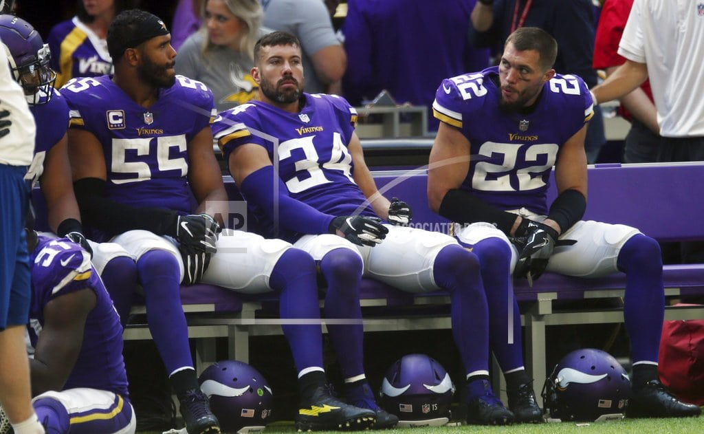 MINNEAPOLIS | Humbled Vikings seek to move forward from annual dud