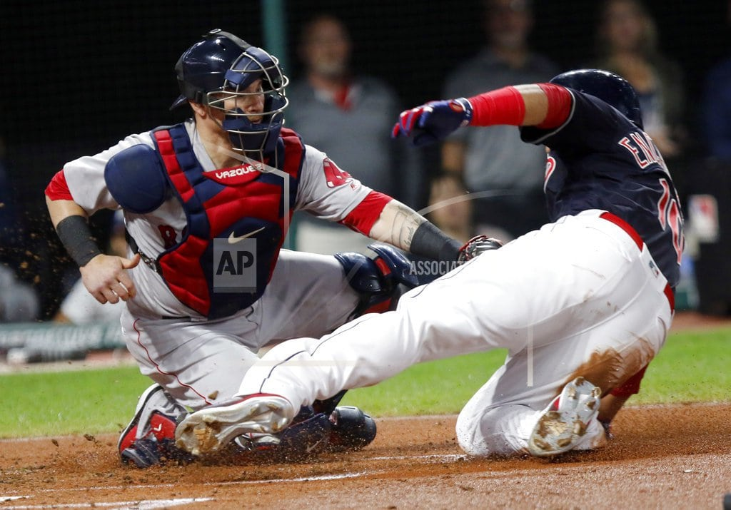 CLEVELAND | Allen's RBI single in 11th leads Indians past Red Sox, 4-3
