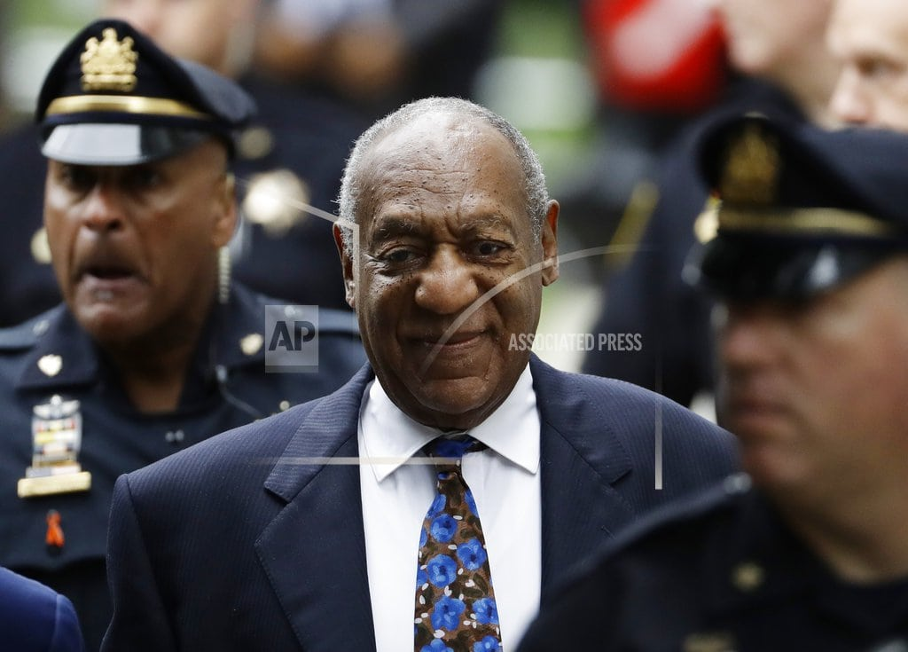 NORRISTOWN, Pa. | The Latest: Cosby lawyer argues to keep him out of prison