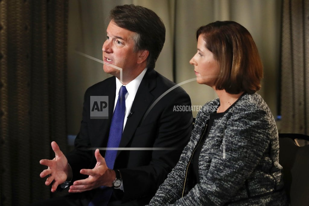 WASHINGTON   The Latest: WH 'open' to testimony by 2nd Kavanaugh accuser