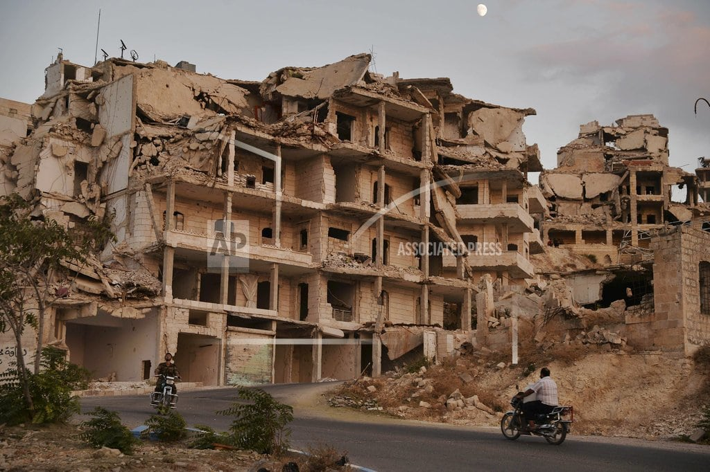 UNITED NATIONS | Syria: Everyone else's battleground, in both war and peace