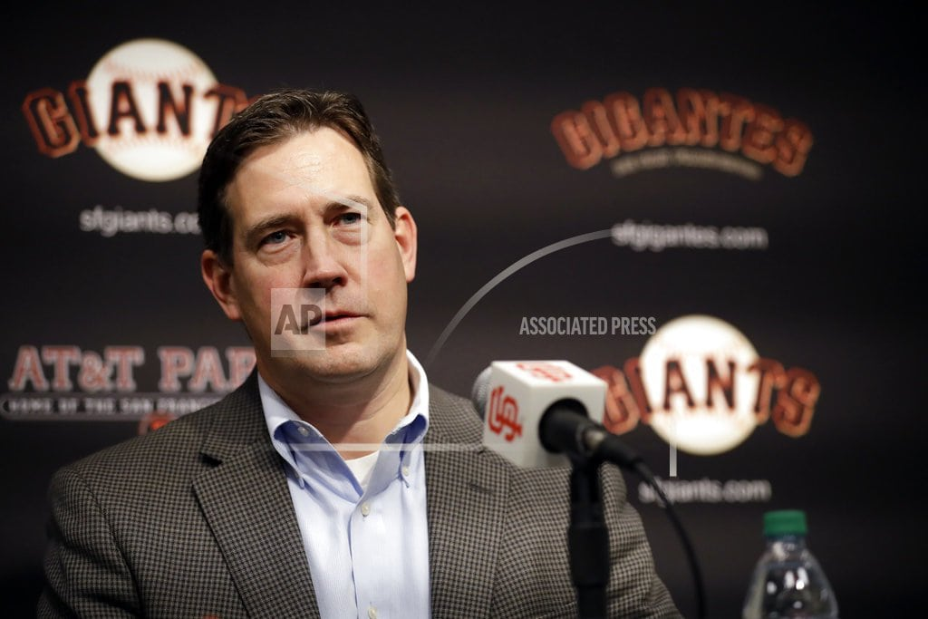 SAN FRANCISCO | Evans fired as San Francisco Giants general manager
