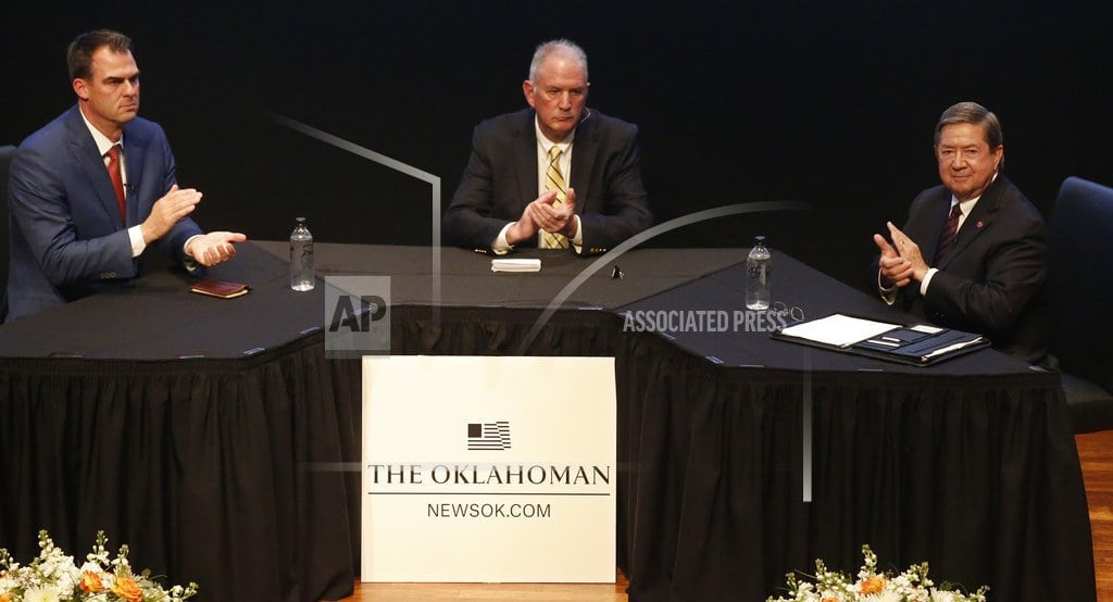OKLAHOMA CITY | Candidates for governor in red Oklahoma face off at forum