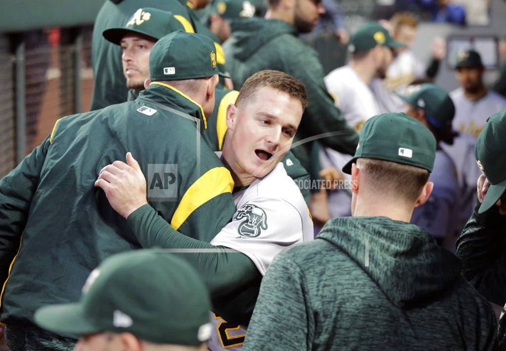 SEATTLE | Athletics clinch playoff berth with Rays' loss to Yankees