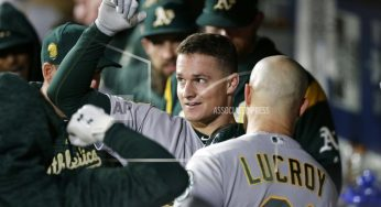 SEATTLE| A's clinch playoff berth, then beat Mariners 7-3