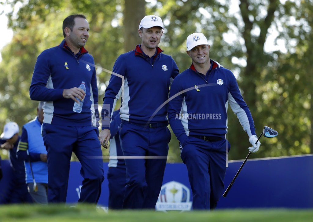 SAINT-QUENTIN-EN-YVELINES, France| 'Everyone loves Sergio': Garcia proving worth at Ryder Cup