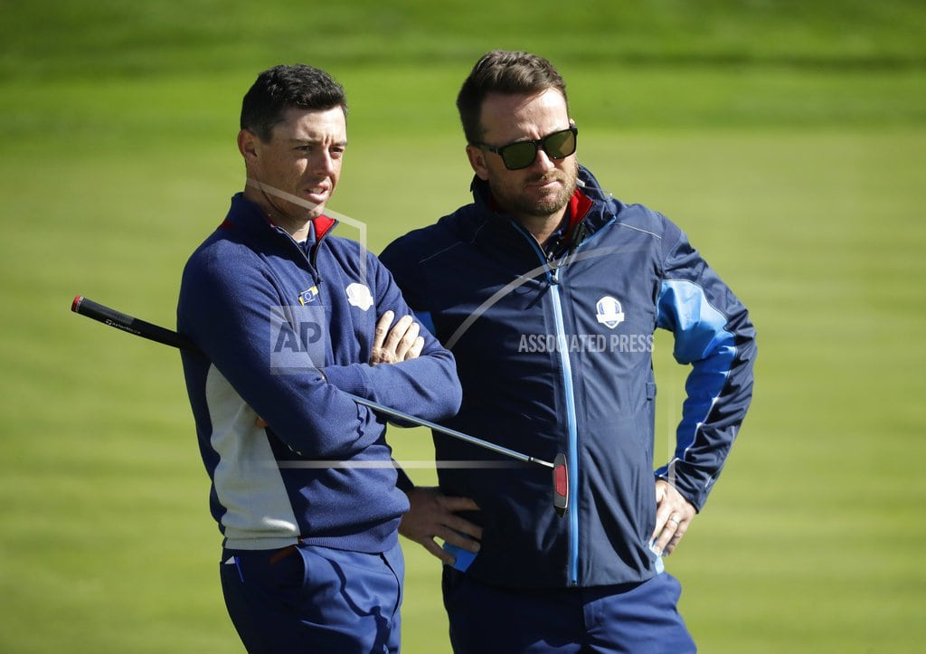 SAINT-QUENTIN-EN-YVELINES, France | McIlroy says Tiger Woods 1 of 12 Americans at Ryder Cup