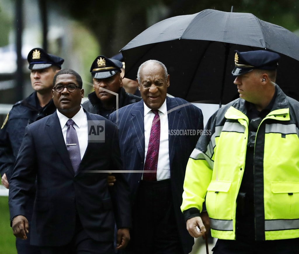 NORRISTOWN, Pa.   The Latest: Cosby not expected to make courtroom statement