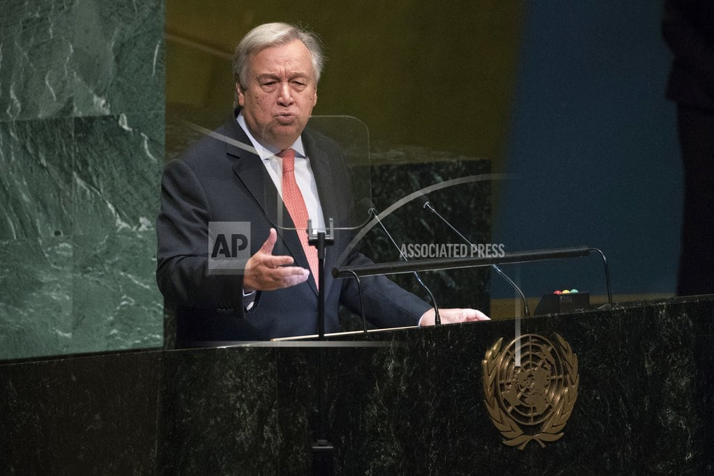 UNITED NATIONS   UN cautions against populism in high-level week