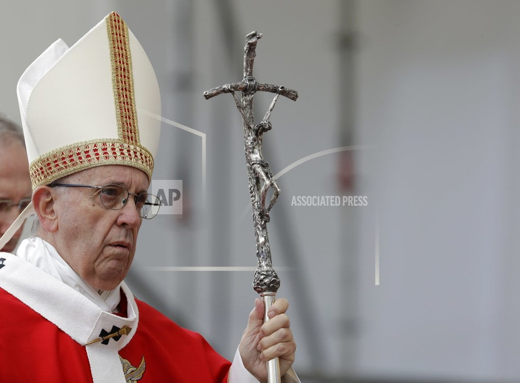 ABOARD THE PAPAL PLANE Pope acknowledges China bishop deal will cause suffering