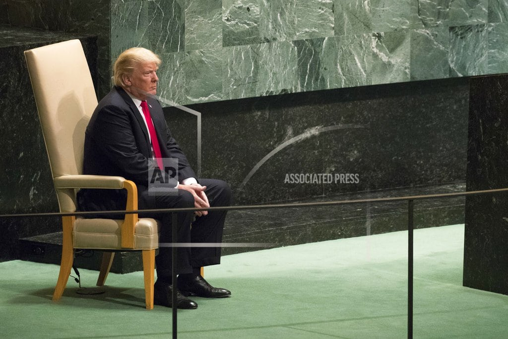UNITED NATIONS | Trump to chair Security Council meeting, meet with Netanyahu