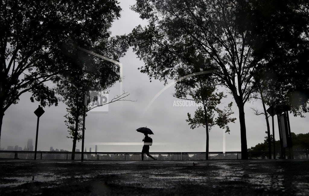 BOGOTA, N.J. | Heavy rains spur flooding, rescues in NYC area, New England