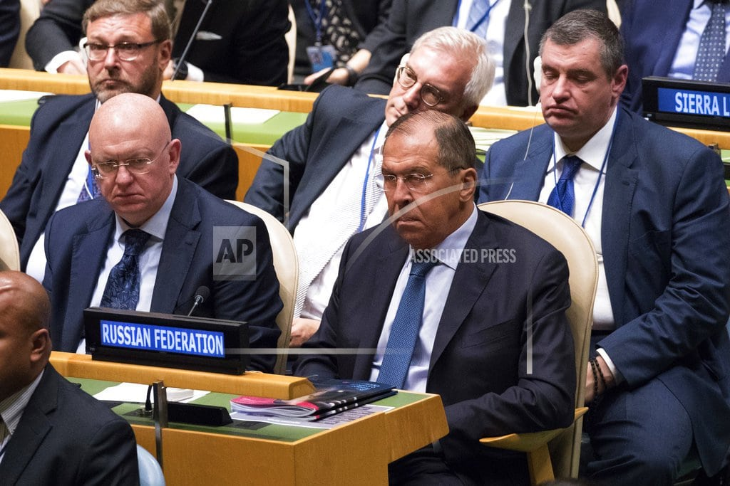 UNITED NATIONS | Russia puts deep roots in Syria, warns West against meddling