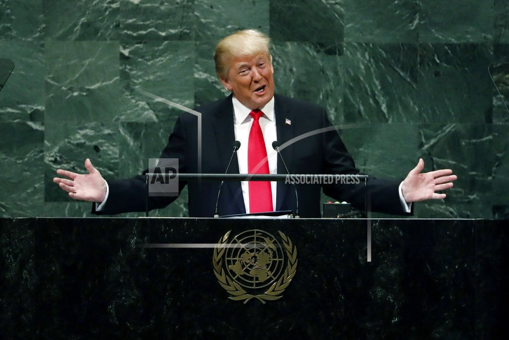 UNITED NATIONS  Trump to meet with Netanyahu, chair Security Council meeting