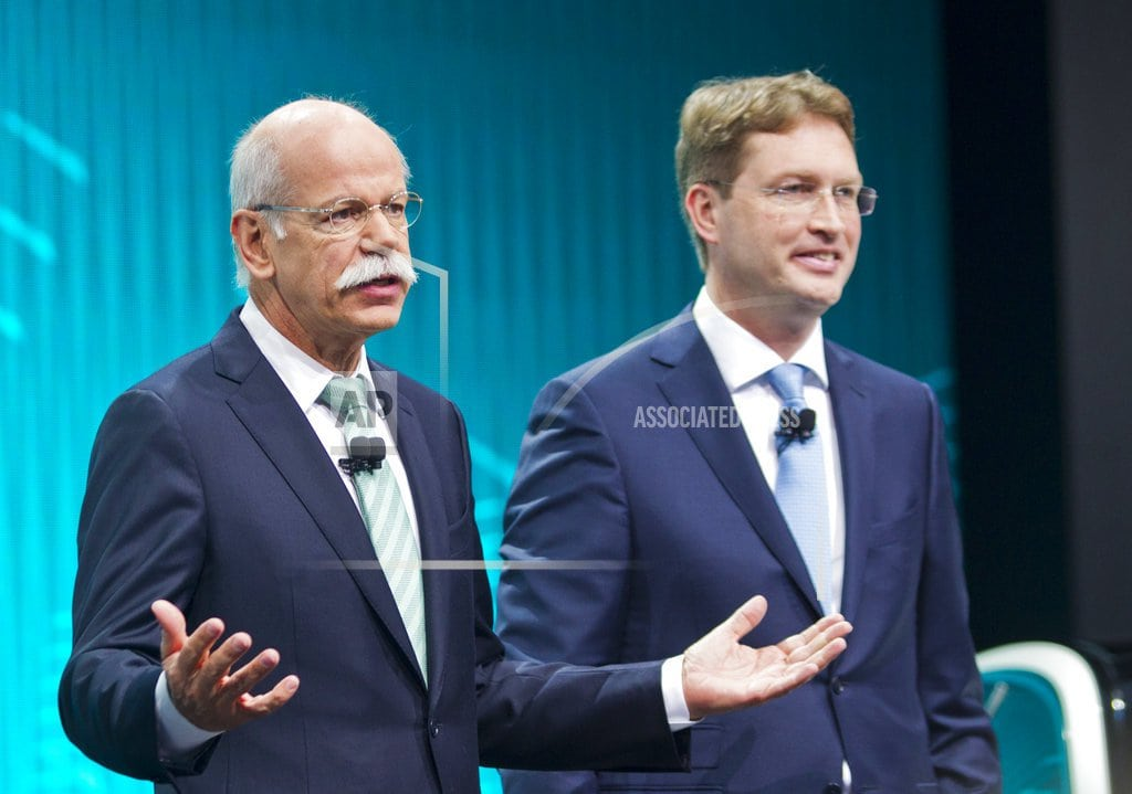 FRANKFURT, Germany | Daimler CEO Zetsche to step down early, succeeded by insider
