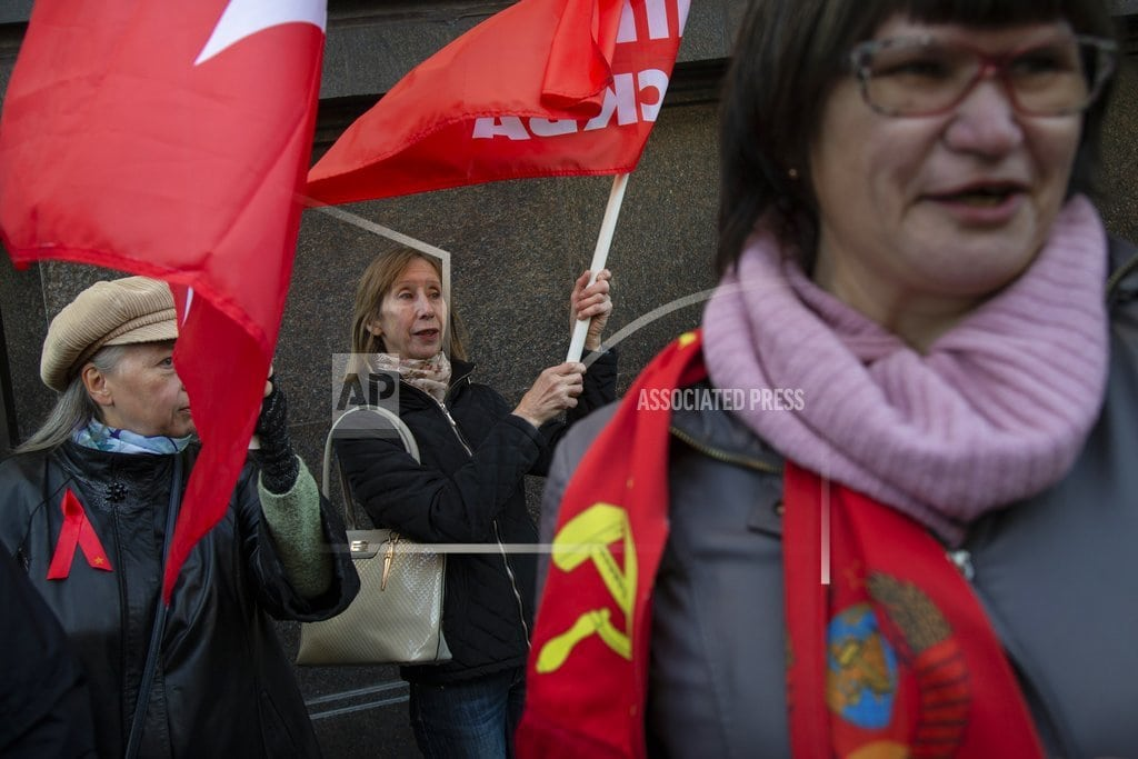 MOSCOW | Russian lawmakers vote to back controversial pension bill