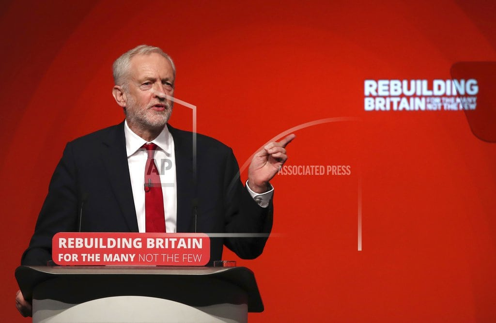 LONDON | UK Labour leader aims to shift focus from Brexit to economy