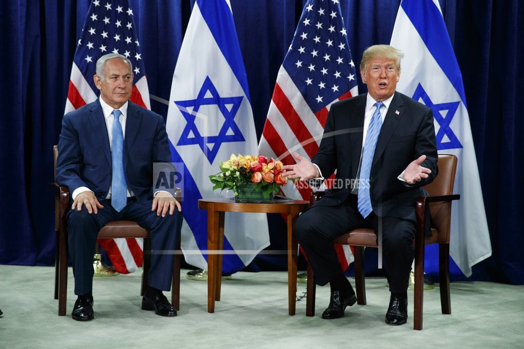 UNITED NATIONS | Trump at UN backs separate states for Israel, Palestinians