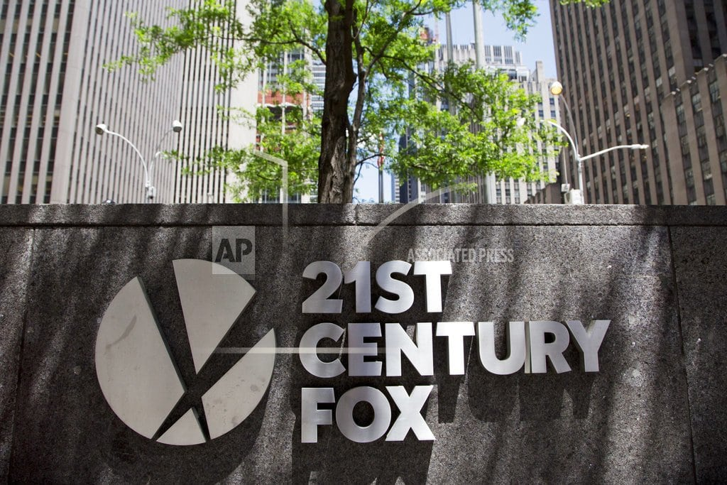 NEW YORK | Fox plans to sell stake in Sky to Comcast for $15B