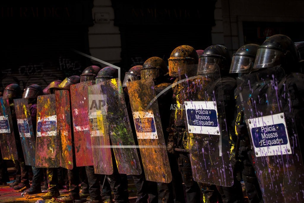 MADRID | A year later, Catalonia's secession vote scars region, Spain