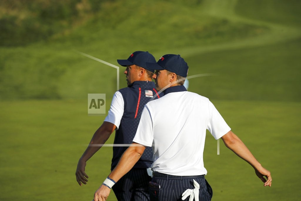 SAINT-QUENTIN-EN-YVELINES, France US looking for another historic comeback at the Ryder Cup